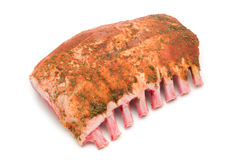 Raw ribs Royalty Free Stock Photography