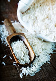 Raw rice Stock Photo
