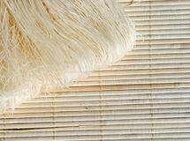 Raw Rice Needles Stock Photography