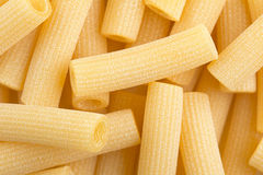 Raw rigatoni Stock Photos