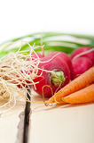 Raw root vegetable Stock Photos