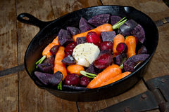 Raw Root Vegetables Royalty Free Stock Images