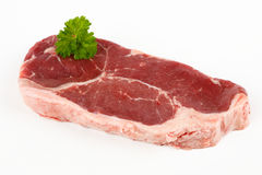 Raw rump steak Royalty Free Stock Image