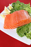 Raw Salmon Royalty Free Stock Photography