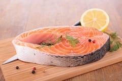 Raw salmon Royalty Free Stock Photo