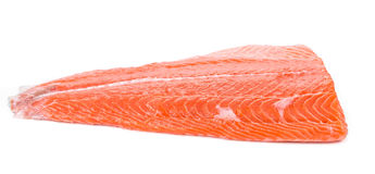 Raw salmon fillet. Stock Photography