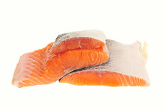 Raw Salmon Fish Royalty Free Stock Images