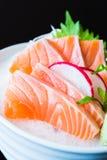 Raw Salmon sashimi Royalty Free Stock Images