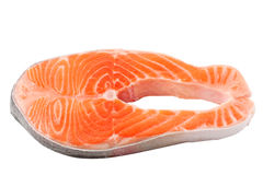 Raw salmon. See my other works in portfolio Royalty Free Stock Photography