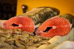 Raw Salmon Royalty Free Stock Image