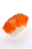Raw salmon sushi Stock Photography