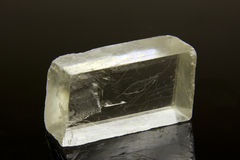 Raw salt crystal Stock Photography