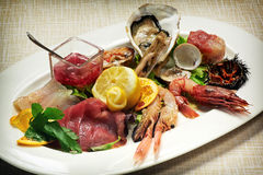 Raw seafood Royalty Free Stock Image