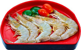 Raw Seafood Royalty Free Stock Photos