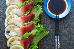 Raw seafood Royalty Free Stock Photography