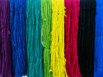 Raw silk Stock Image