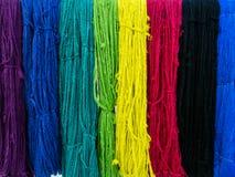 Raw silk Stock Image