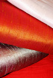 Raw silk fabric Stock Image