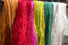 Raw silk Royalty Free Stock Image