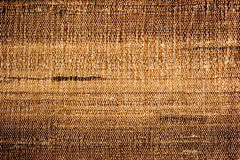 Raw silk texture Royalty Free Stock Image