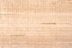 Raw silk texture close up Stock Images