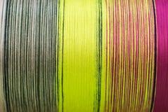 Raw silk Stock Photos