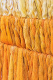 Raw silk thread Royalty Free Stock Images