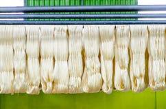Raw silk thread Stock Image