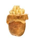Raw skins of potatoes, Stock Photos