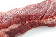 Raw skirt steak Stock Images