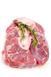 Raw slices of veal shanks Stock Photo