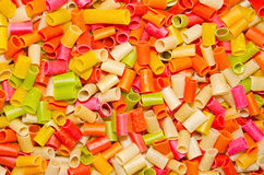 Raw snacks. Colorful raw snacks are ready to fry Stock Photo