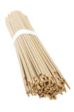 Raw soba noodle bunch Royalty Free Stock Photo