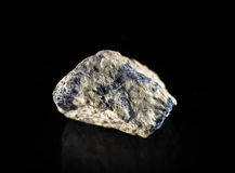 Raw sodalite Royalty Free Stock Images