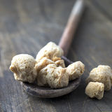 Raw Soya Chunks (Soy Meat) Royalty Free Stock Images