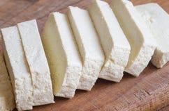 Raw soya tofu Stock Photo