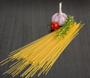 Raw spagetti Royalty Free Stock Image