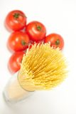 Raw spaghetti Royalty Free Stock Photo