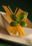 Raw spaghetti Stock Images