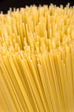 Raw spaghetti noodles Royalty Free Stock Photography