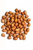 Raw spanish peanuts  Stock Photography