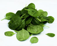 Free Raw Spinach Leafs Stock Photo - 87594630