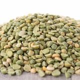 Raw split pea Stock Images