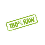 Raw stamp sign text. Raw grunge stamp sign vector. Color is easily changed Stock Photo