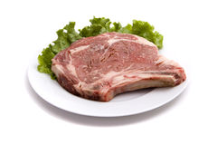 Raw steak Royalty Free Stock Photo