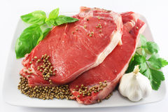 Free Raw Steak Royalty Free Stock Images - 14191579