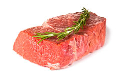 Raw steak Stock Images