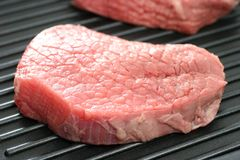 Raw steak Stock Image