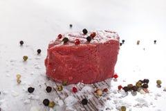 Raw steak. Stock Image