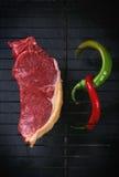 Raw steak Royalty Free Stock Photography